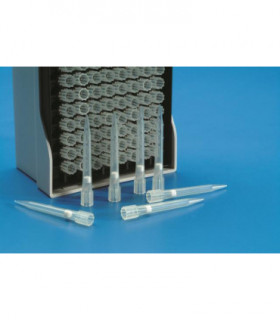PIPETTE TIPS IN RACKS-FILTER,TYPE: EPP PP, 5-300uL, NEUTRAL, STERILE, 96 IN RACK