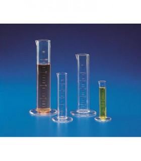 CYLINDER MEASURING L/F TPX, 100ml, Grad 25ml, Sub. 5ml, 34.5mm D, 177mm H
