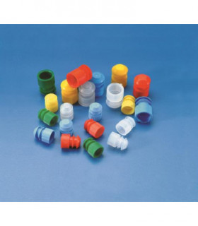 TEST TUBE STOPPER PE, 11-13mm, NEUTRAL