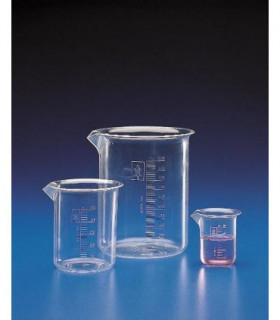 BEAKER GRAD TPX, 500ml, Sub. 10ml, 88mm D, 119mm H, Tol +/- 10%