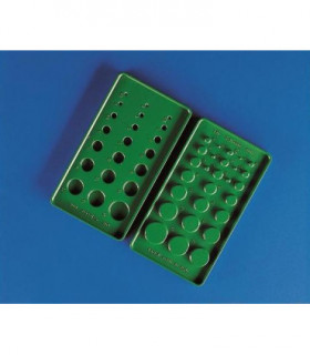 TUBING SELECTOR ABS, GREEN, 90x165mm
