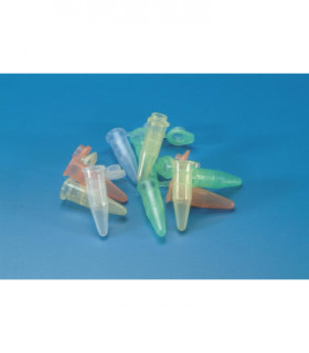 MICRO TEST TUBE- FLAT CAP GRAD PP, 1.5ml, NEUTRAL, RCF 11.000