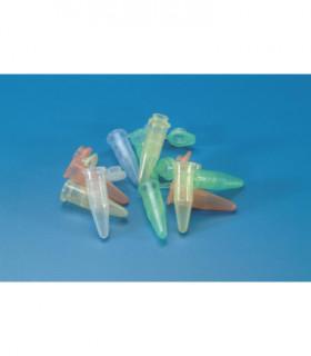 MICRO TEST TUBE-FLAT CAP GRAD PP, 1.5ml, BLUE, RCF 11.000