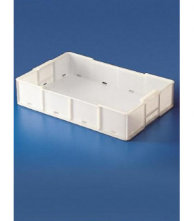 TANK STACKABLE HDPE, 16L, 540X350mm, 115mm H, With draining holes