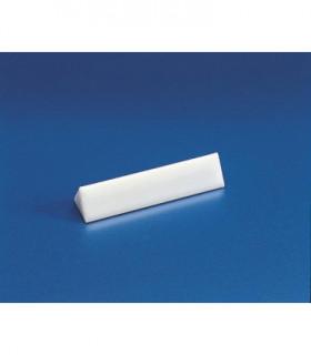 BAR STIRRING-TRIANGULAR PTFE, 7 x 25mm