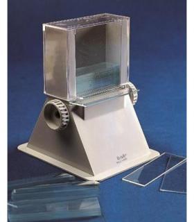 DISPENSER SLIDE ABS + PS, 100x120x140(h) mm, Up to 50 slides