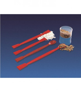 SPATULA-FLAT ENDS  Glass fibre fill nylon, 180mmL