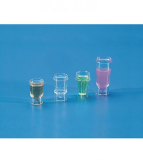 SAMPLE CUP-TYPE: TECHNICON PS, 1.5ml, 13.8mm D, 22.6mm H