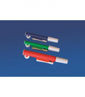 PIPETTE PUMP PP, 25ml, RED